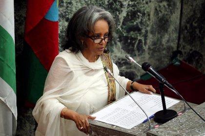 """La presidenta de Etiopía pide a las mujeres que jueguen """"un papel relevante"""" en las reformas en el país"""