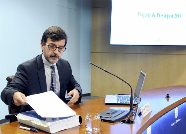 Jordi Cinca, ministro de Finanzas de Andorra
