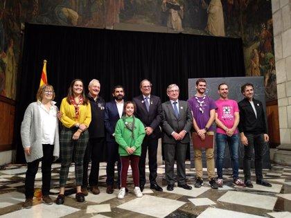 """Torra, sobre las colonias en Catalunya: """"Sois un engranaje imprescindible en el país que queremos"""""""