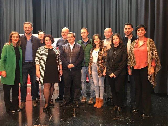 Presentación de la candidatura del PSOE