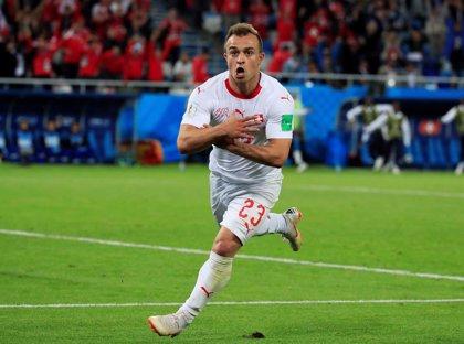 El Liverpool no convoca a Shaqiri para Belgrado por seguridad tras su celebración en el Mundial