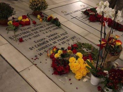 El PSOE planteará prohibir por ley que los restos de Franco estén en lugares abiertos al público como La Almudena