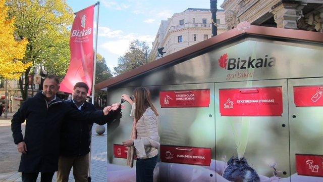 Garbigune móvil en Bilbao