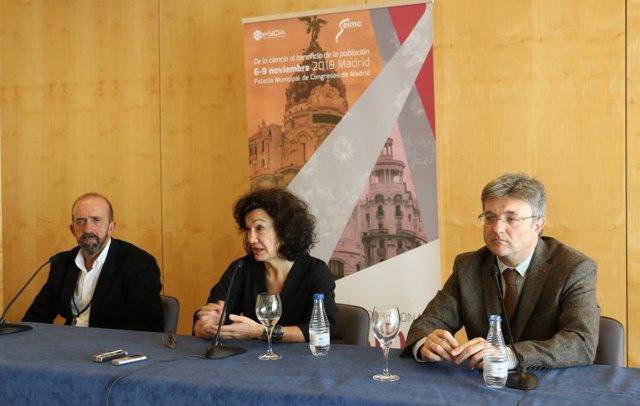 La secretaria del Plan Nacional sobre Sida, Julia del Amo, en X Congreso GeSIDA