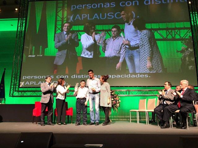 Acto de entrega de los Premios 'Andalucía más Social'