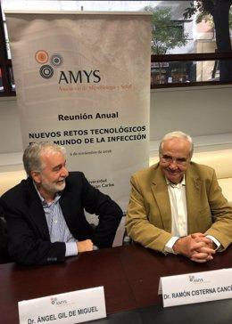 Ángel Gil de Miguel y Ramón Cisterna, AMYS