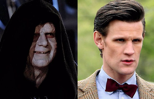 Palpatine y Matt Smith