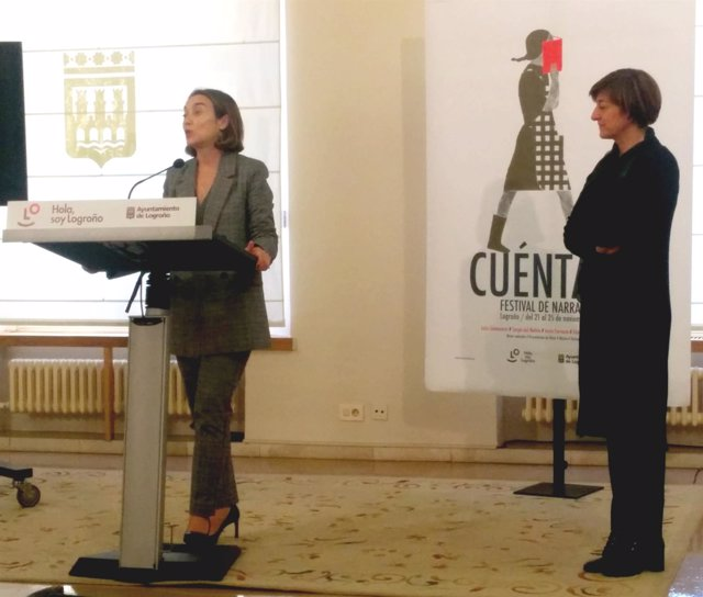 Gamarra y Montes, en la presentación de Cuéntalo 2018