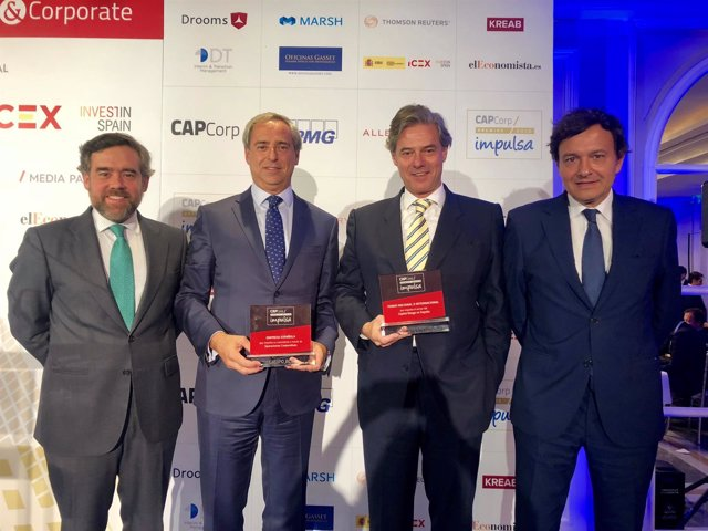 Premios Impulsa 2018 en la  inauguración de la XIX edición de CAPCorp.