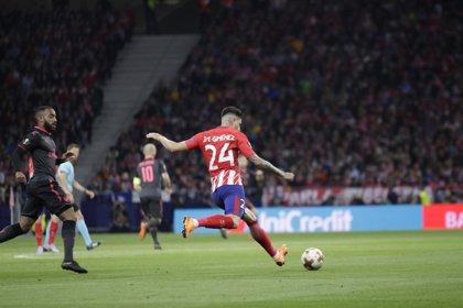 Giménez se une a la larga lista de bajas del Atlético de Madrid