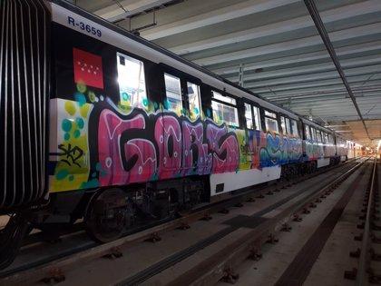 Metro y sindicatos se reúnen este miércoles para analizar la seguridad tras los últimos asaltos de grafiteros