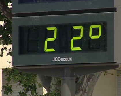 Las temperaturas máximas subirán este miércoles hasta seis grados en Valencia
