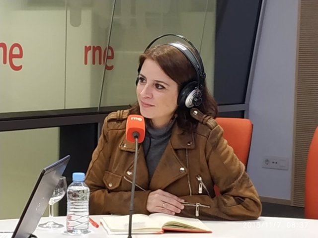 Entrevista en RNE a la portavoz del PSOE en el Congreso, Adriana Lastra