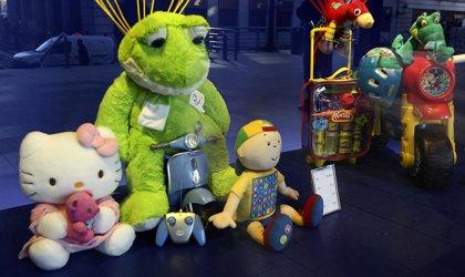 El PSOE de Ejea inicia su tradicional campaña de recogida de juguetes para Cruz Roja