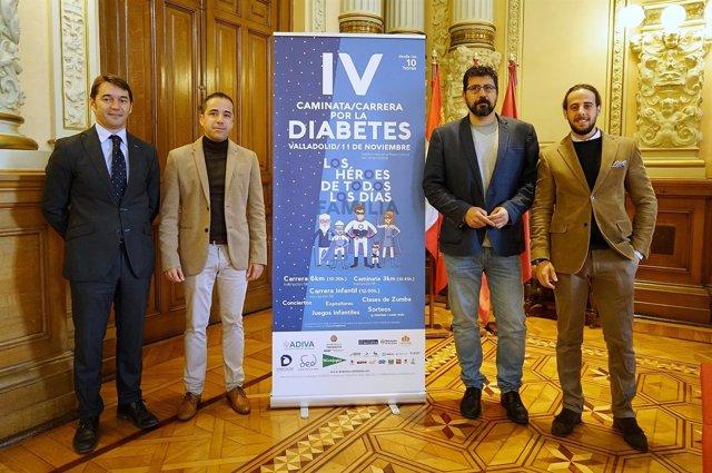 Marcha por la Diabetes en Valladolid.