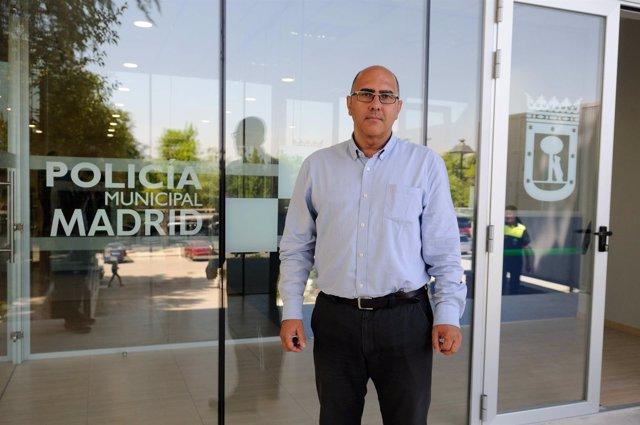 El director general de la Policía Municipal de Madrid, Andrés Serrano