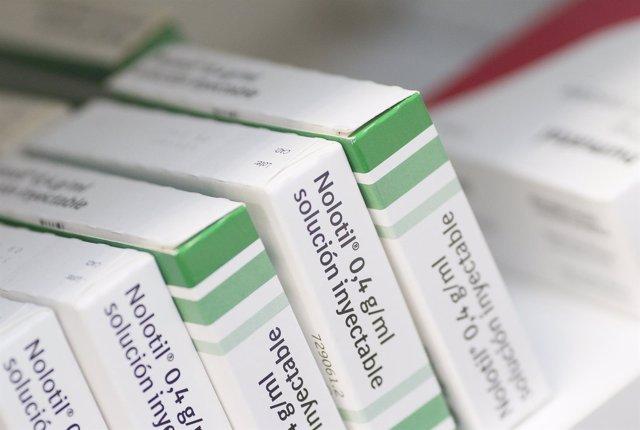 Farmacia, farmacias, medicamento, medicamentos, medicina, medicinas, Nolotil