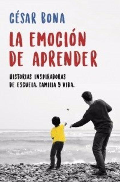 César Bona presentará el lunes en Albacete su nuevo libro 'La emoción de aprender'