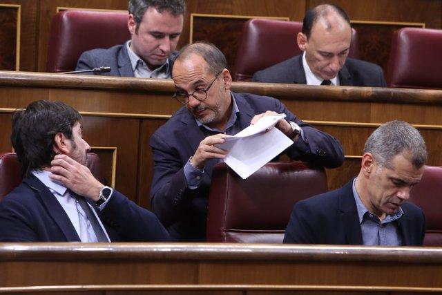 Sessió Plenària al Congrés dels Diputats per a la presa en consideració de
