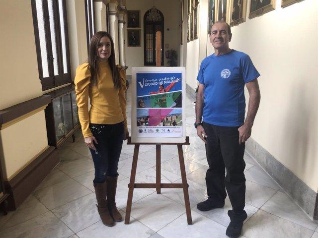 Presentación de la V Travesía Senderista en Málaga capital