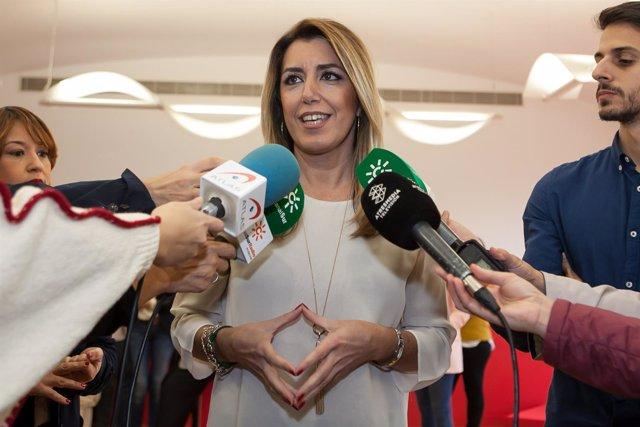 foto de presentación de la candidatura del PSOE de Sevilla para las elecciones