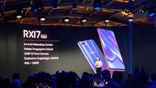 Presentación de Oppo RX 17 Pro en Milán
