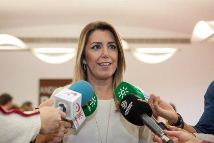 """Susana Díaz: El PP usa el Senado como """"desahogo en su desesperación y falta de proyecto"""""""