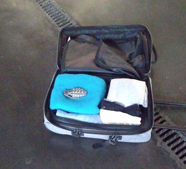 Equipaje y objeto similar a una granada que ha generado la alarma
