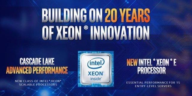 Intel Xeon Cascade  Lake y Intel Xeon E-2100