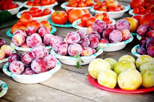 Huerto, fruta