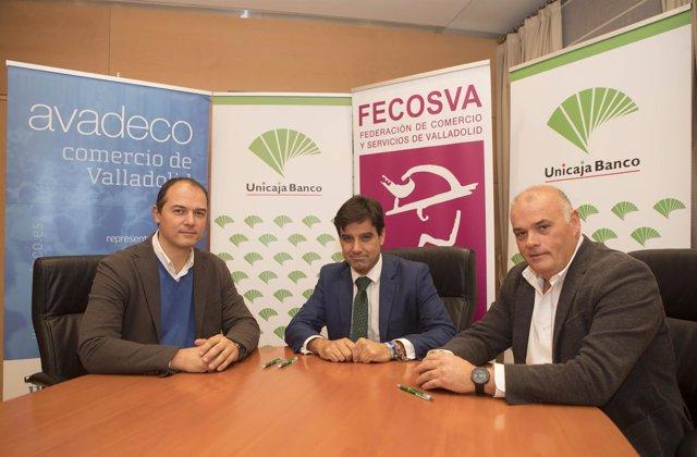 Firma de Unicaja, Fecosva y Avadeco 7-11-208