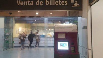 """Critican el """"bloqueo"""" de la venta de billetes de Renfe desde Granada """"producido en las últimas horas"""""""
