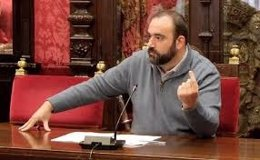Francisco Puentedura, portavoz de IU en el Ayuntamiento de Granada