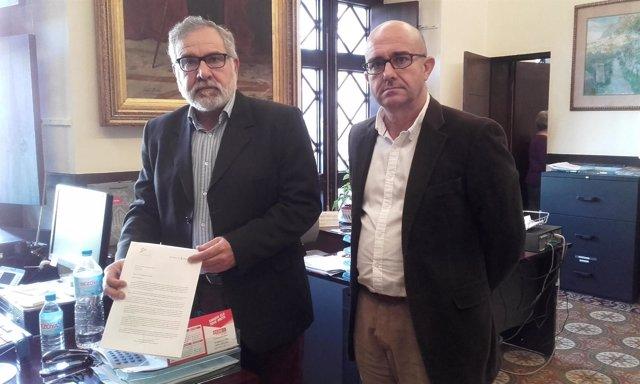 El portavoz de Cs Palma, Josep Lluis Bauzá