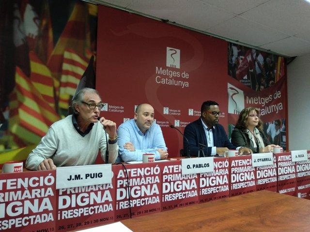 J.M.Puig, O.Pablos, J.O'Farril i A.Roca