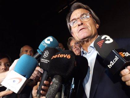 """La Fiscalía pide al Supremo mantener los dos años inhabilitación de Mas por el 9N: """"Fue un desafío a la legalidad"""""""