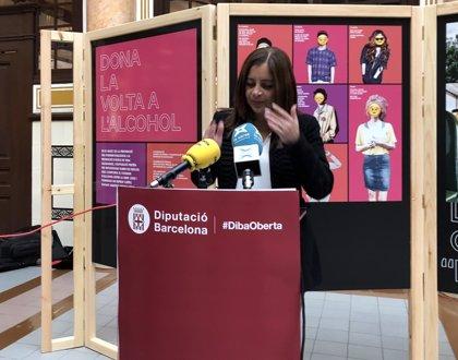La Diputación de Barcelona muestra una exposición contra el consumo de alcohol en jóvenes