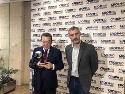Croem impulsará cierre convenios colectivos pendientes pero no avanza en la ley aceleración empresarial con Podemos