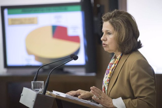 La vicepresidenta Pilar Blanco Morales presenta los PGEx 2019