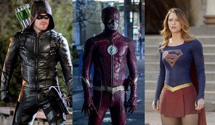 Elseworlds: Supergirl, Green Arrow y The Flash visitan Gotham en una imagen filtrada del rodaje