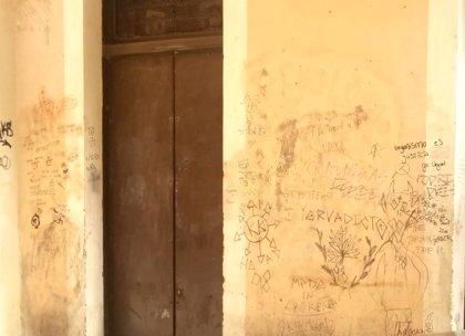 Identificados dos jóvenes, uno menor de edad, por hacer pintadas por varias zonas de Logroño