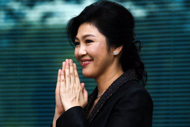 La ex primera ministra tailandesa Yingluck Shinawatra en una imagen de archivo