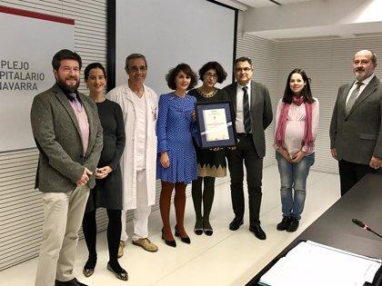 La Sección de Nutrición del CHN obtiene una certificación internacional sobre su sistema de gestión de la calidad