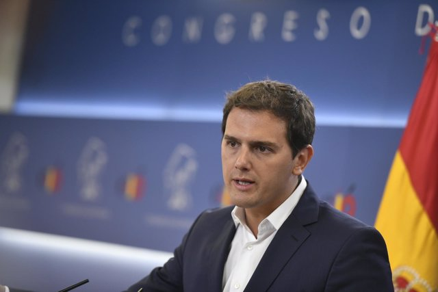 Rueda de prensa del presidente de Ciudadanos, Albert Rivera, sobre el balance de