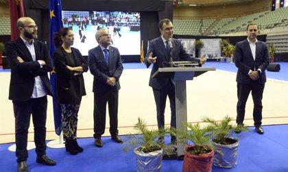 Murcia atrae a 5.000 personas como capital nacional de la gimnasia rítmica desde este jueves hasta el domingo