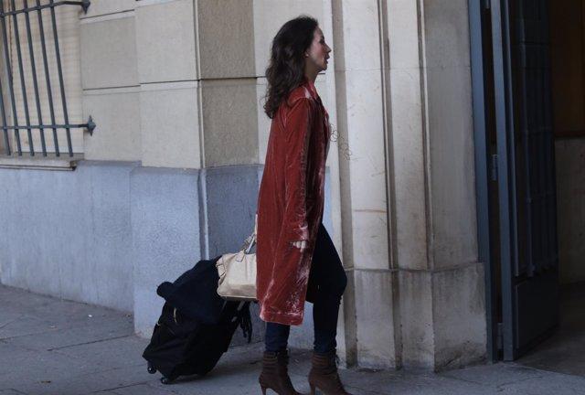 La jueza Mercedes Alaya llega a la Audiencia Provincial de Sevilla