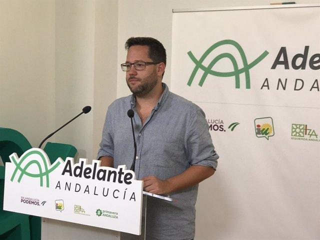 José Ignacio García, de 'Adelante Andalucía'