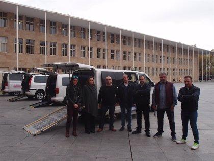 Logroño cuenta con una flota de seis 'eurotaxis' adaptados