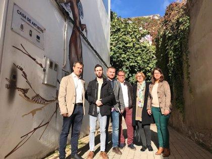 """PSOE critica la """"despótica"""" actitud del alcalde sobre la Casa de los Artistas, con una cesión """"entre amiguetes"""""""