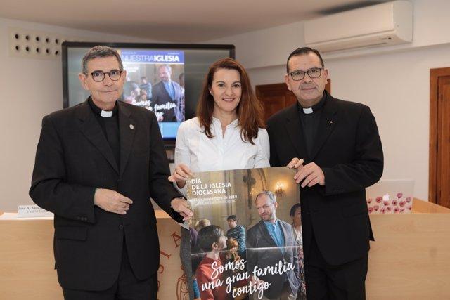 Nota De Prensa: La Iglesia Presenta Sus Cuentas Por El Día De La Iglesia Diocesa